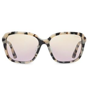 Prada oversized tortoise shell sunglasses